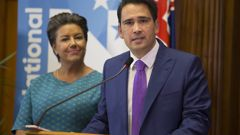 Simon Bridges has announced a reshuffle of the National Party list (Image / Supplied)