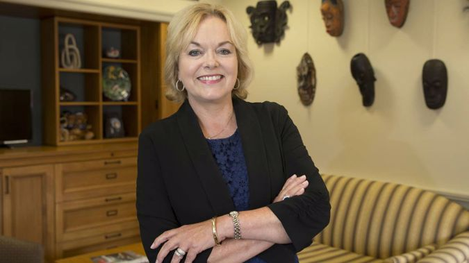 Judith Collins has jumped to the fourth place in National's ranking. (Photo / NZ Herald)