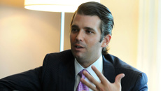 Donald Trump Jnr's wife files for divorce