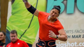 Surprise defeat for Valerie Adams in Christchurch