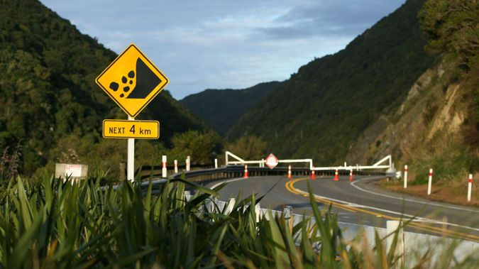 Slips have closed the existing road through Manawatu Gorge since April last year. (Photo: Getty Images)