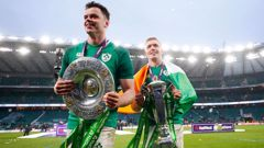 James Ryan and Dan Leavy celebrate (Getty Images)