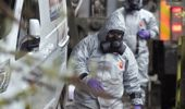 Military forces work on a van in Winterslow England as investigations continue into the nerve-agent poisoning. (Photo/ AP)