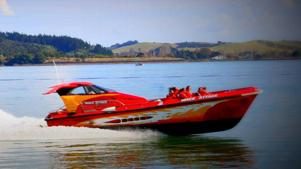 The passenger was rushed to Bay of Islands Hospital after the incident in 2014. (Photo / Supplied)