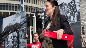 Prime Minister Jacinda Ardern (Photo \ Mark Mitchell)
