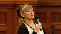 Penny Bright owed the Auckland Council more than $30,000 in June 2015. (Photo \ NZ Herald)
