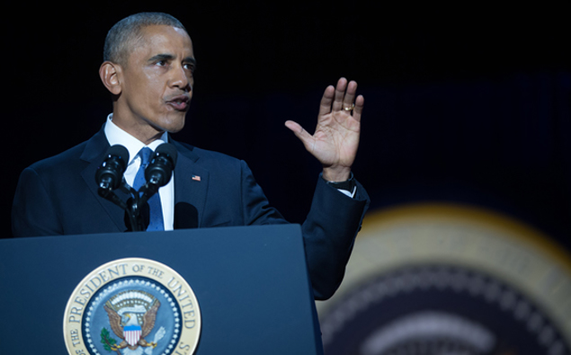 Former US president Barack Obama jets in to Auckland tonight