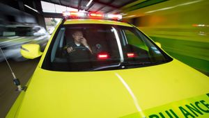 Police were called to Beresford St in New Brighton, Christchurch, in response to a report that two ambulance staff had been assaulted by a patient. (Photo / Google)