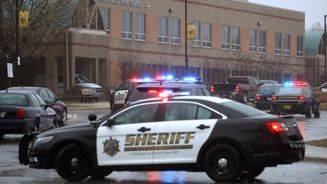 One dead and two wounded after shooting at US high school