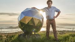 Rocket Lab's Humanity Star was expected to orbit the Earth for nine months, it will crash after two. (Photo \ NZ Herald)
