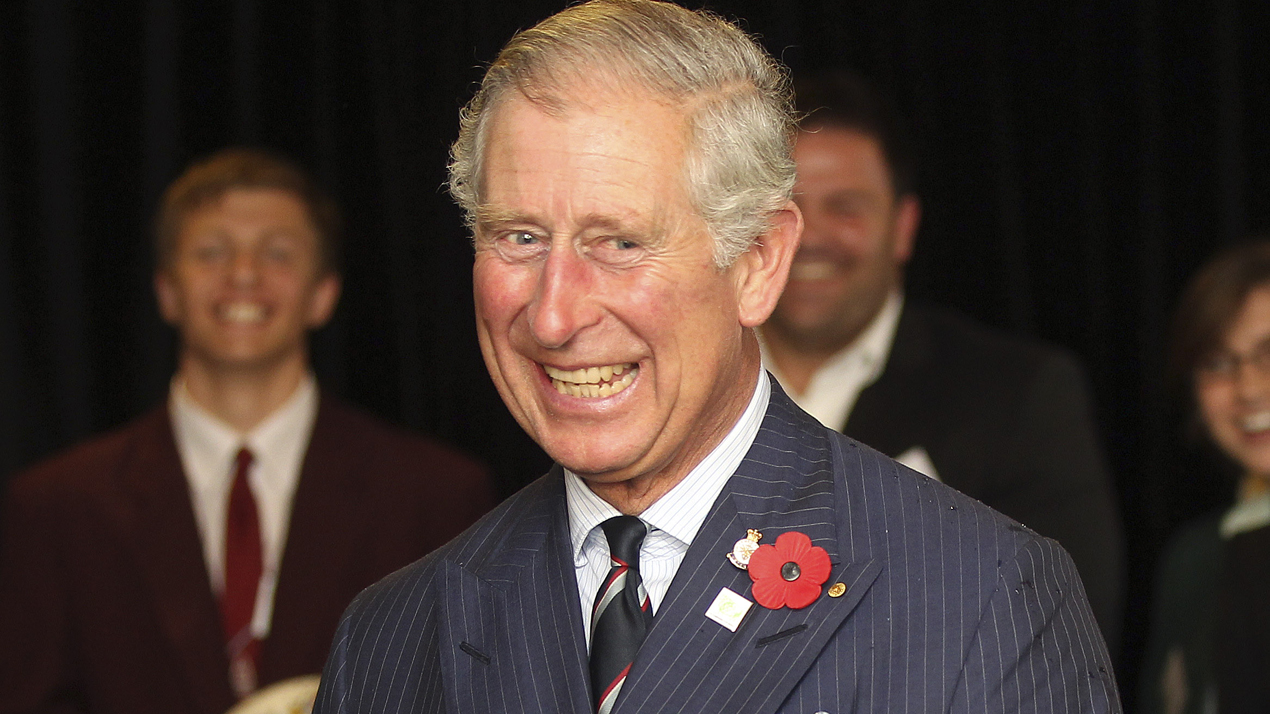 Prince Charles smiling (Photo \ Getty Images)