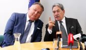 Shane Jones and Winston Peters (Photo \ Getty Images)