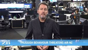 Mikes Minute: Thuggish behaviour threatens Air NZ