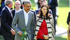 Watch live: Obama's welcome to NZ, meeting with Jacinda Ardern