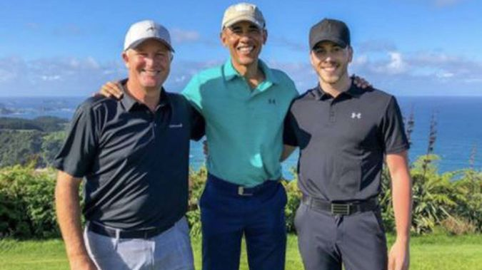 John Key was a big part in bringing Obama to Auckland. (Photo / Twitter)
