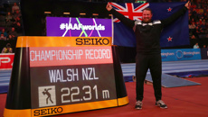 Tom Walsh: I'm not there to get 2nd