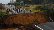 Washout cuts off Far North