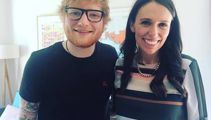 Ed Sheeran visits PM's house for 'cuppa and some scones'