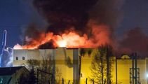 Shopping mall blaze: Up to 100 people feared dead in Siberia fire