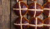 Andrew Dickens has an interesting take on hot cross buns. (Photo / Getty)