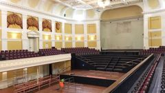 The Wellington town hall has been closed since 2013 and is set to reopen in 2021. (Photo: File)