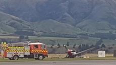 Plane crashes at Warbirds Over Wanaka opening