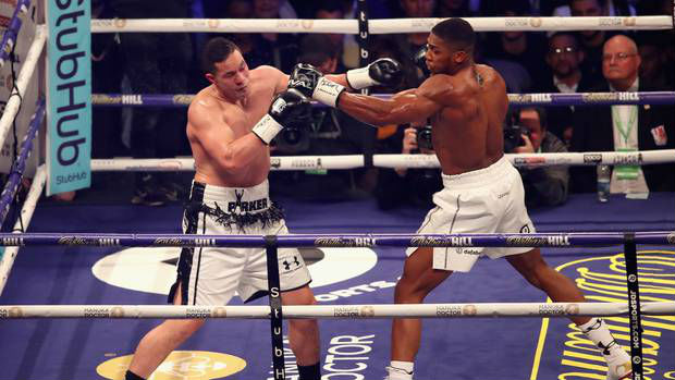 Joshua v Parker: How Twitter reacted to the Cardiff fight night