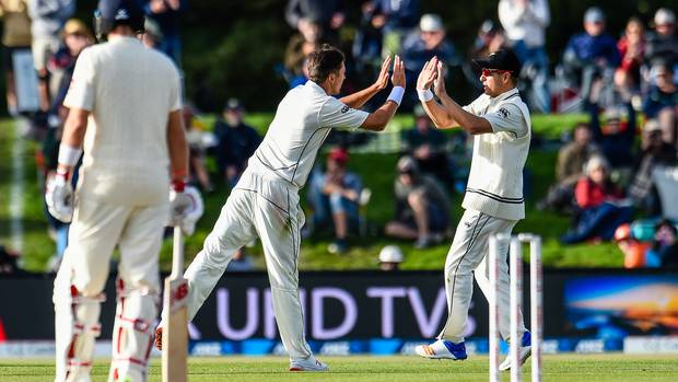 Black Caps v England, second cricket test, Christchurch, day four