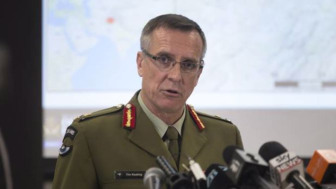 Defence Force Chief Lieutenant-General Tim Keating is stepping down at the end of June. Photo / Mark Mitchell