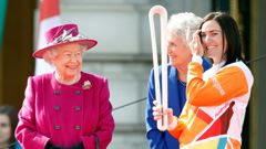 Commonwealth Games baton (Photo \ Getty Images)