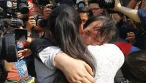 Parents reunited with daughter 24 years after she went missing
