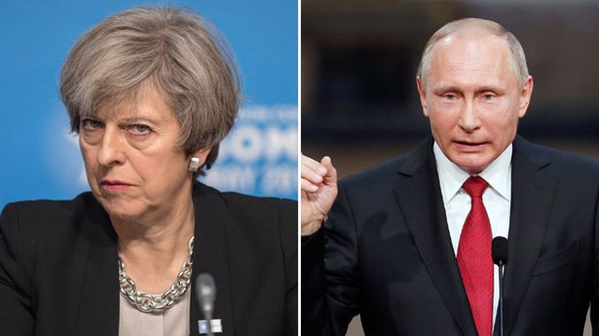 A new storm is brewing after the UK government deleted a tweet blaming Russia for the poisoning of a former spy in Salisbury. (Photo \ Getty Images)