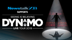 Superstar magician Dynamo is coming to New Zealand for the first time