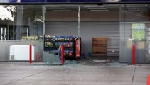 Gull station cordoned off after ram raid
