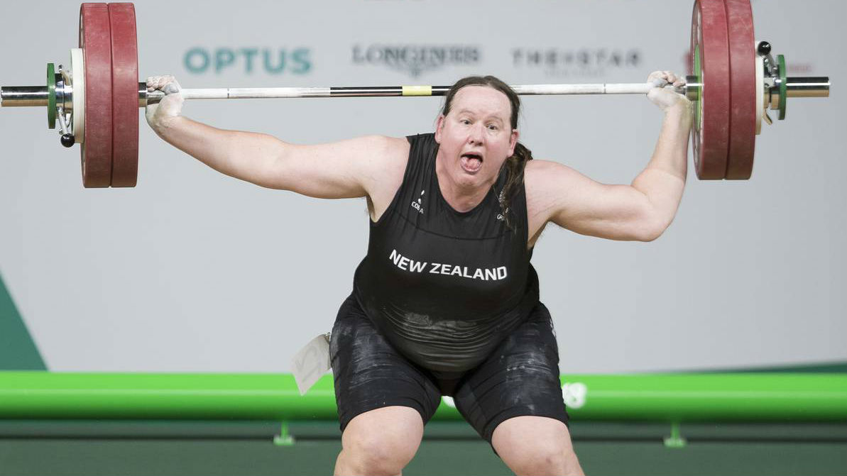 Laurel Hubbard had been on track for a win before being forced to withdraw. (Photo / NZ Herald)