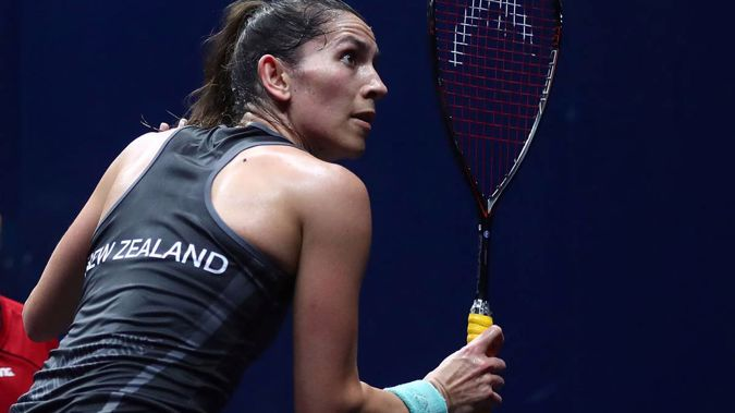 Joelle King won squash gold, but that was enough to make TVNZ broadcast it live on TV. (Photo \ NZ Herald)