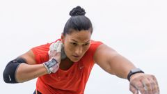 Valerie Adams has reached another Commonwealth Games shot put final. (Photo \ Getty Images)