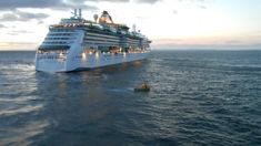 Husband in shock: Freak wave sweeps wife off cruise ship