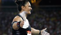 Valerie Adams finishes second in shot put final