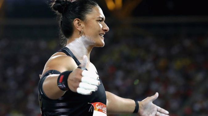 Commonwealth Games: Valerie Adams wins silver in shot put final (Photo \ NZH)
