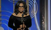 Oprah Winfrey at the Golden Globes (Photo \ Getty Images)
