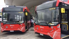 These are not the first electric buses to hit Auckland roads. (Photo / NZ Herald)