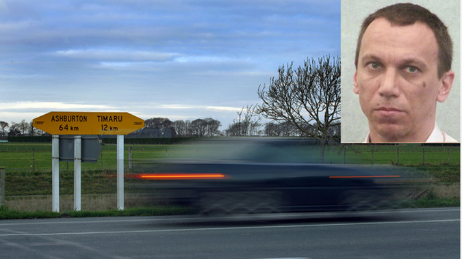 Polish man Milosz Urbanek had already been ticketed for speeding near Timaru before the serious crash