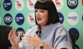 Raelene Castle is the CEO of Rugby Australia. (Photo / Getty)