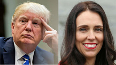 Ardern tells US TV show she was infuriated over comparison to Donald Trump