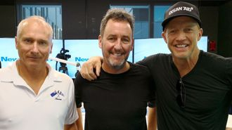 Kiwi actor, Team NZ skipper teaming up to help the environment