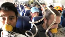 Plane horror: Most passengers fastened oxygen masks incorrectly