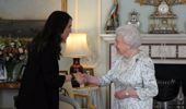 Jacinda Ardern's in London for CHOGM and as part of that has had an audience with the Queen. (Photo \ NZ Herald)