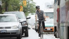 Cars are dangerous. It's why we need cycle lanes. (Photo \ Getty Images)