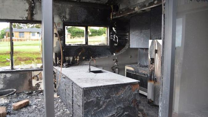 Pukekohe Show Home Gutted By Fire Police Say Blaze